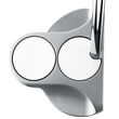 Odyssey White Steel 2-Ball Center-Shafted Putters