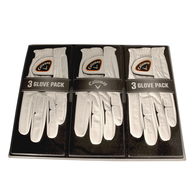 3-Pack Mens Gloves