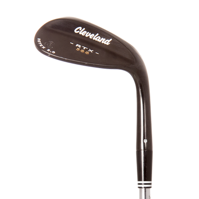 Cleveland 588 RTX 2.0 Black Satin Wedges