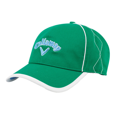 Women's Diamond Stitch Cap