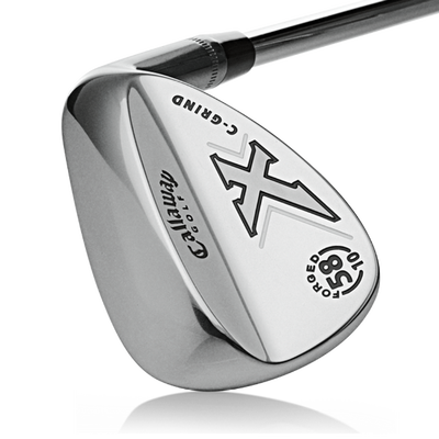 08 X-Forged Chrome Lob Wedge Mens/Right