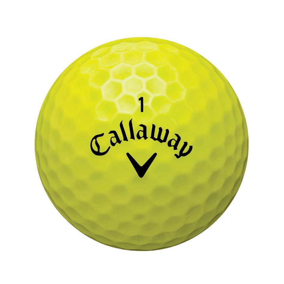 Callaway Golf X2 Hot Yellow Loose Dozen Golf Balls
