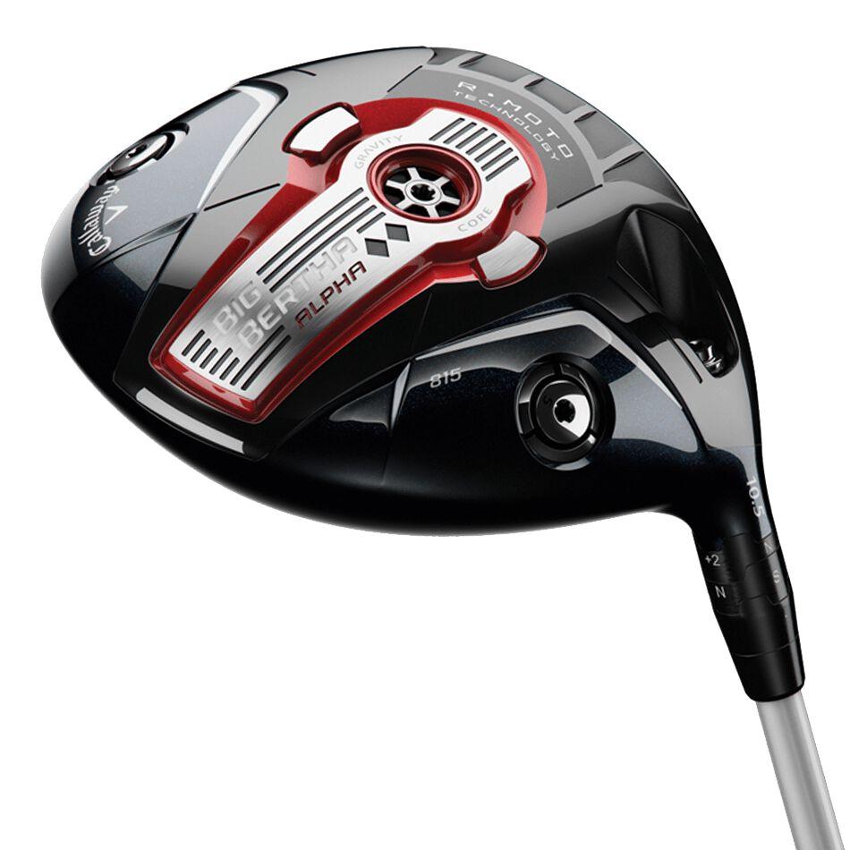 Callaway Golf Big Bertha Alpha 815 Double Black Diamond Drivers