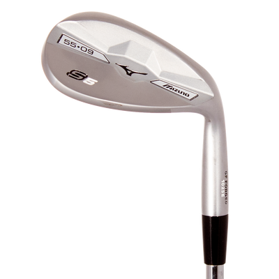 Mizuno S5 White Satin Wedges