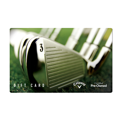 Callaway Golf Pre-Owned Gift Card and E-Gift Card