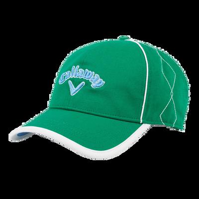 Women's Diamond Stitch Cap