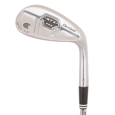 Cleveland 588 RTX 2.0 CB Satin Chrome Wedges