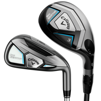 Women's Big Bertha Irons/Hybrids Combo Set