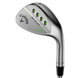 Mack Daddy 3 Milled Satin Chrome Approach Wedge Mens/Right