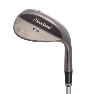 Cleveland CG15 Black Pearl Wedge Wedge Mens/LEFT