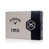 HEX Chrome X-Out Golf Balls - View 1