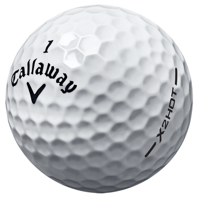 X2 Hot Logo Overrun Golf Balls