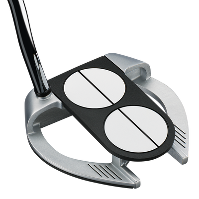 Odyssey Works Versa 2-Ball Fang Lined Putter