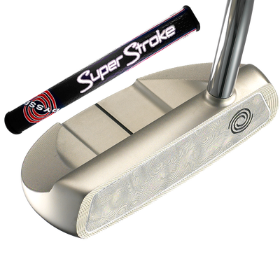 Odyssey White Damascus #5 Putter with SuperStroke Grip
