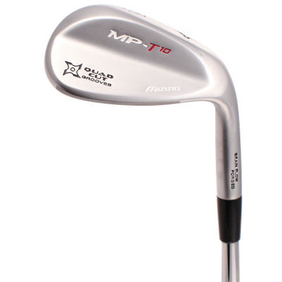 Mizuno MP T-10 White Satin Wedges
