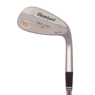 Cleveland 588 Forged Satin Chrome Wedge Lob Wedge Mens/LEFT