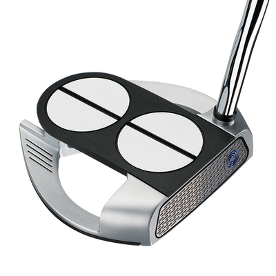 Odyssey Works 2-Ball Fang Lined w/ SuperStroke Grip Putter
