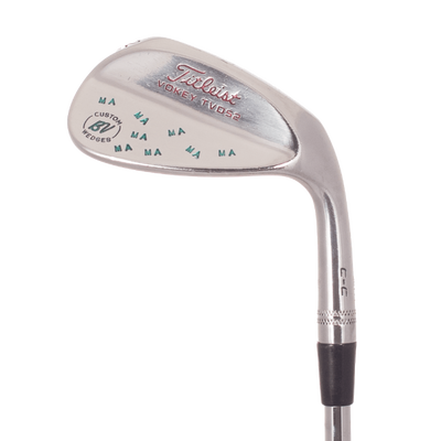 Titleist 2010 Vokey TVD-M Grind Brushed Chrome Lob Wedge Mens/Right