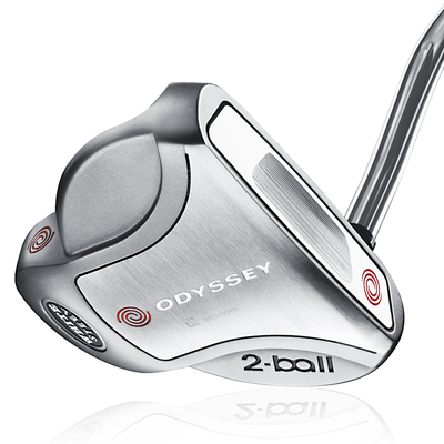 Odyssey White Steel 2-Ball Putters