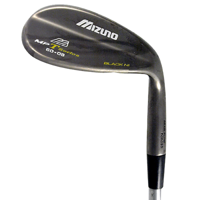 Mizuno MP T Black Nickel Lob Wedge Mens/Right