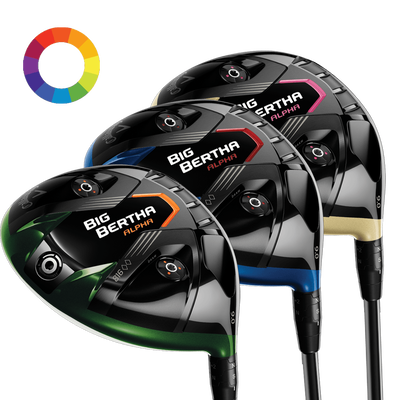 Big Bertha Alpha 816 Double Black Diamond uDesign Driver 9° Mens/Right