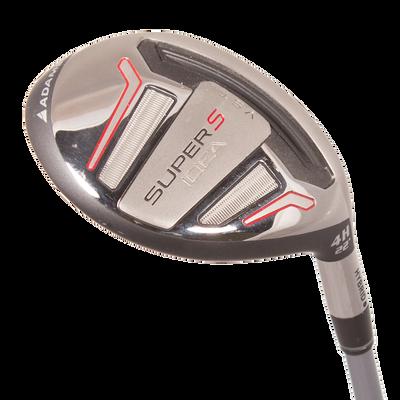 Adams Golf Idea Super S Black 4 Hybrid Mens/Right