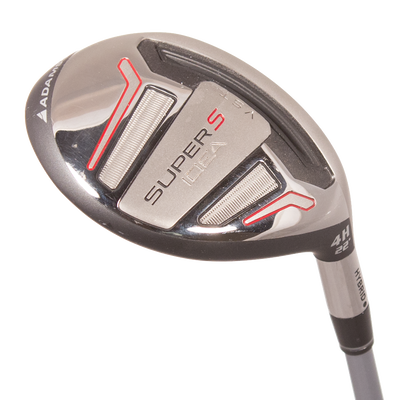 Adams Golf Idea Super S Black 3 Hybrid Mens/Right