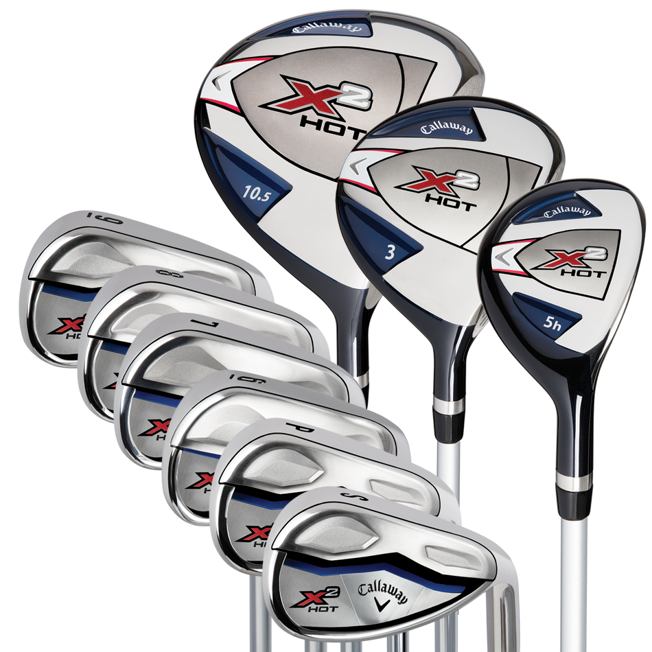 CALLAWAY GOLF 2016 X2 HOT 9-PIECE COMPLETE SET | eBay Callaway Golf Club Set