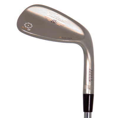 Titleist Vokey SM5 Gold Nickel Wedges Lob Wedge Mens/Right