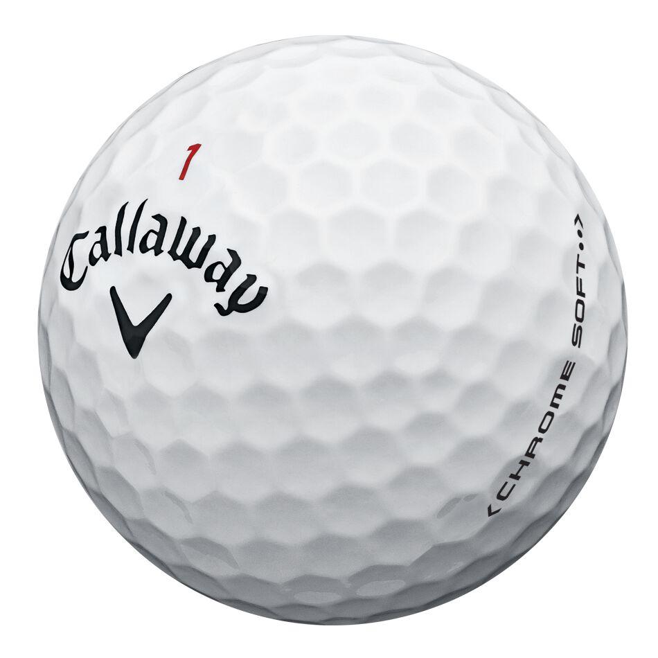Callaway Golf Chrome Soft Overruns Golf Balls