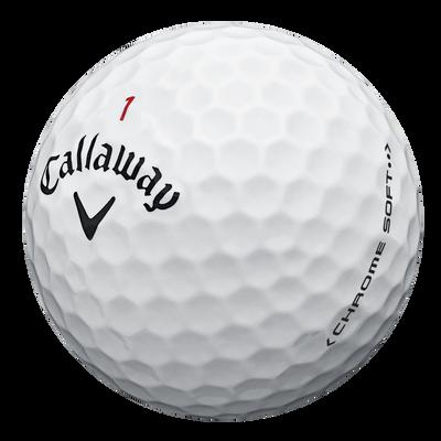 Chrome Soft Overruns Golf Balls
