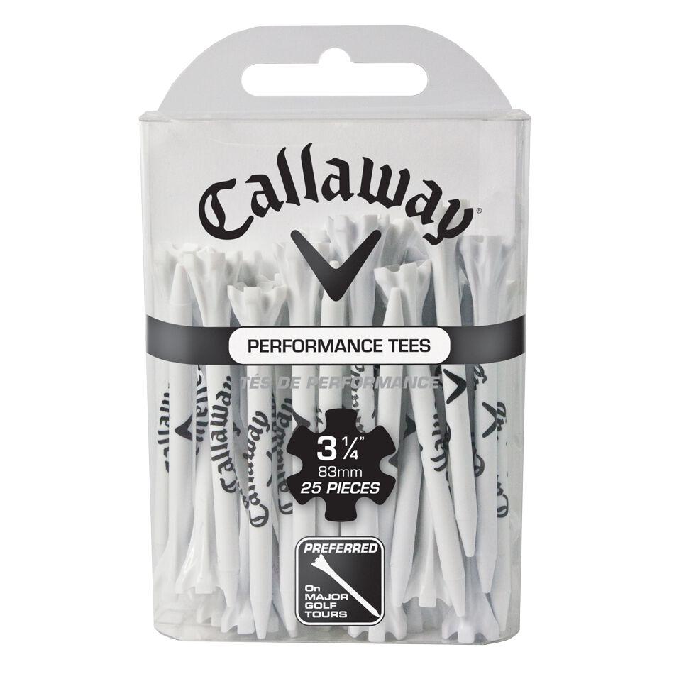 Callaway Golf Performance CG Logo Tees 3 1/4 25-Pack