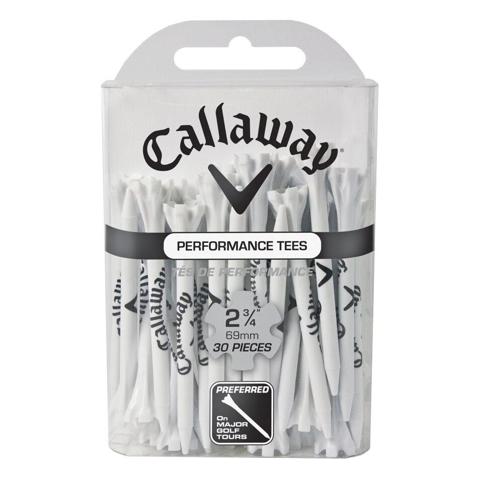 Callaway Golf Performance CG Logo Tees 2 3/4 in 30-Pack