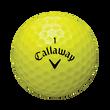 X2 Hot Yellow Loose Dozen Golf Balls
