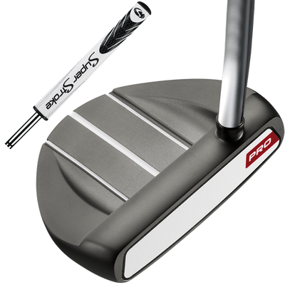Odyssey White Hot Pro V-Line with SuperStroke Grip Putter