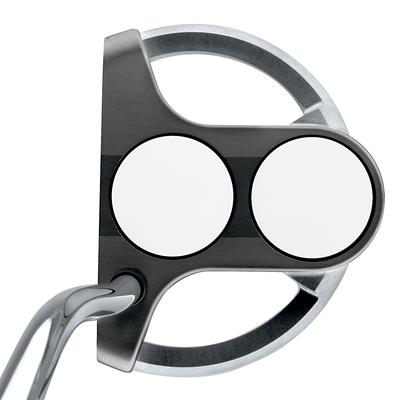 Odyssey White Steel 2-Ball SRT Putters