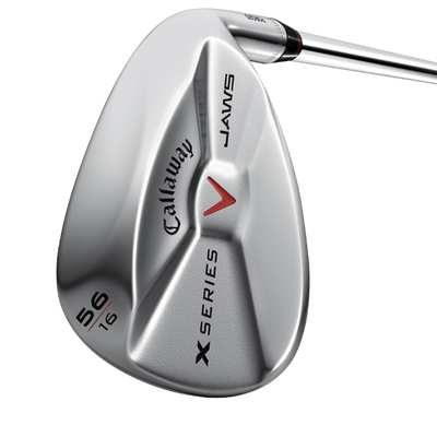 X Series JAWS Chrome Lob Wedge Mens/LEFT