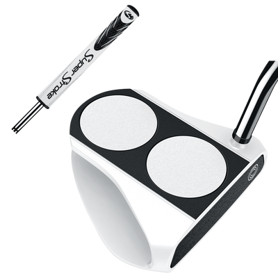 Odyssey Versa 2-Ball White with SuperStroke Grip Putters