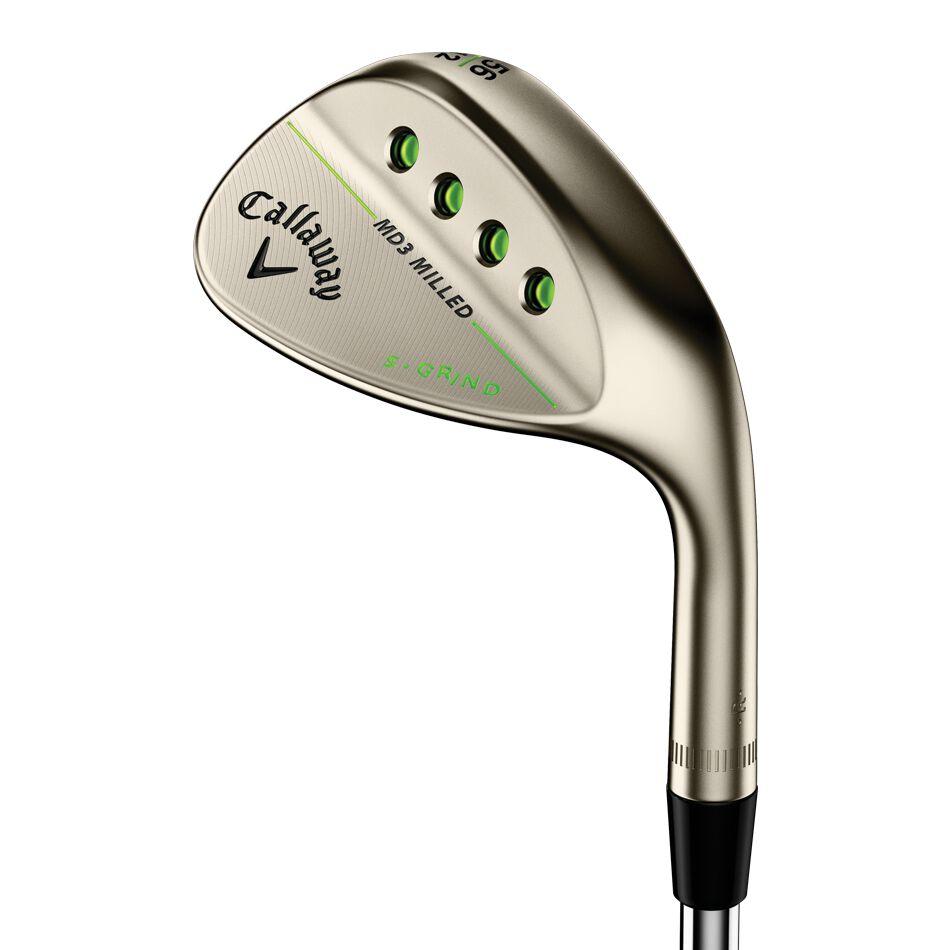 Callaway Golf MD3 Milled Gold Nickel Wedges
