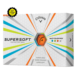 Supersoft Multi-Color Pack Golf Balls
