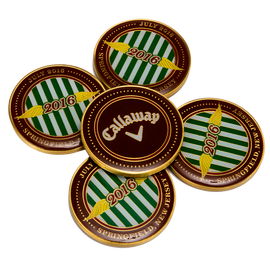 Team Callaway 2016 Final Major Coin