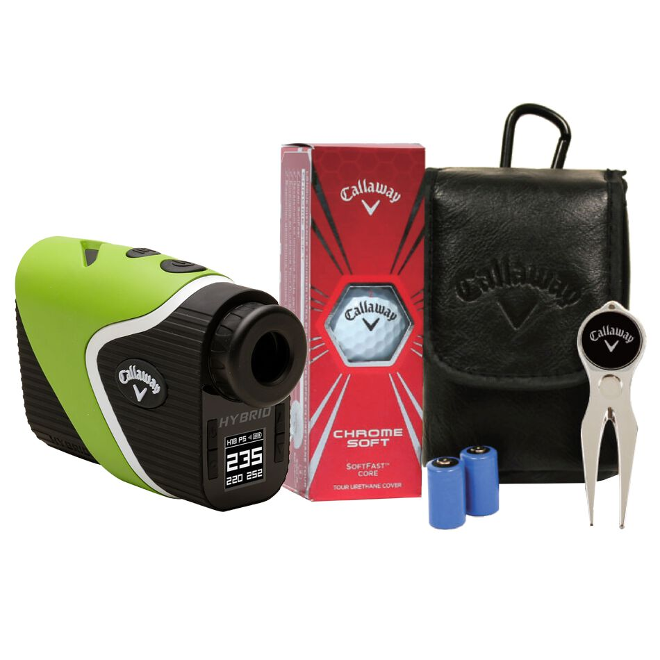 Callaway Golf Hybrid Laser-GPS Rangefinder with Power Pack