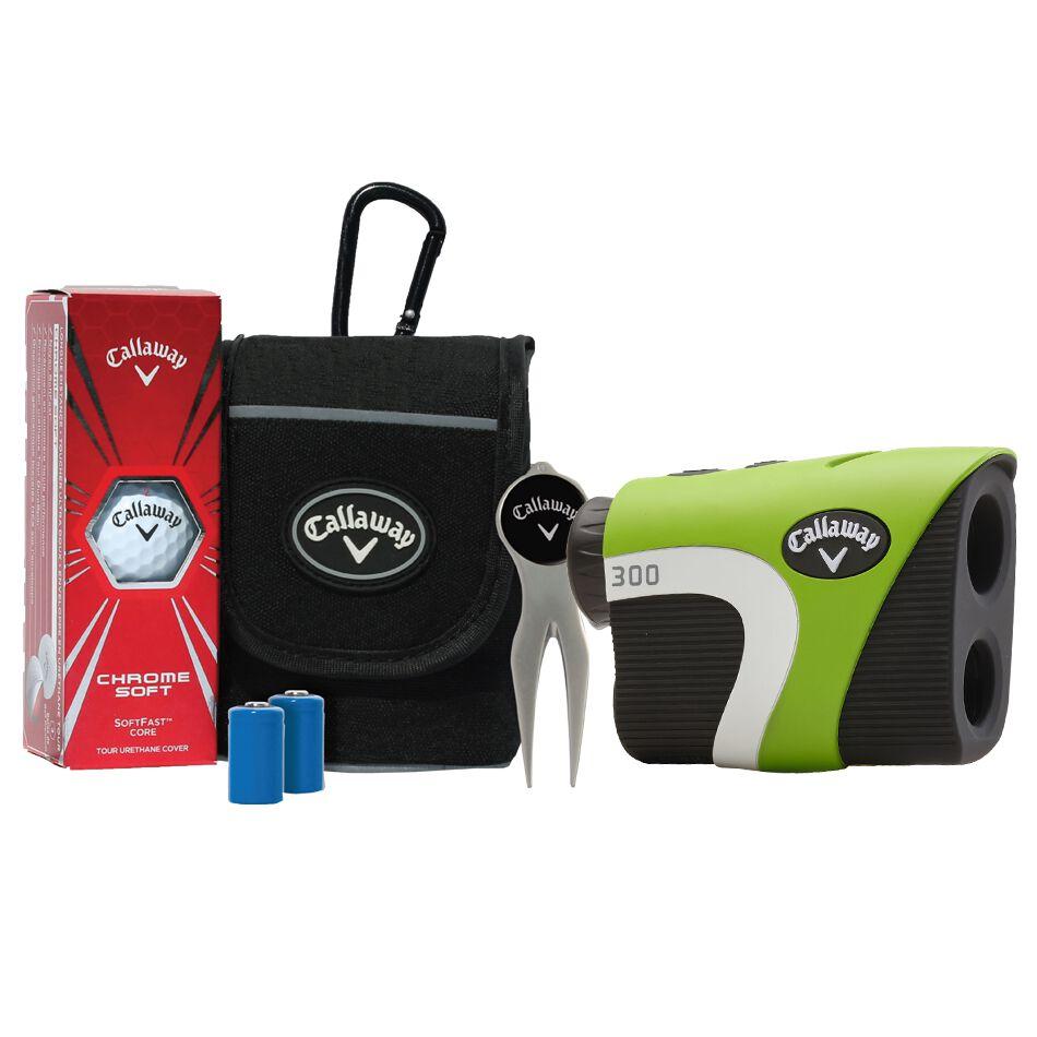 Callaway Golf 300 Laser Rangefinder with Power Pack