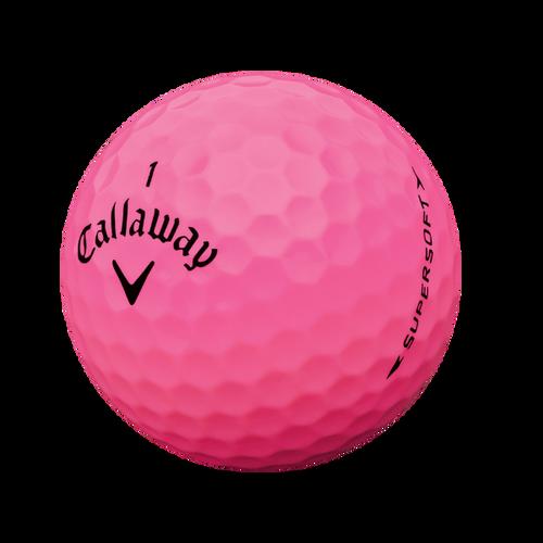 Supersoft 15 Pink Golf Balls