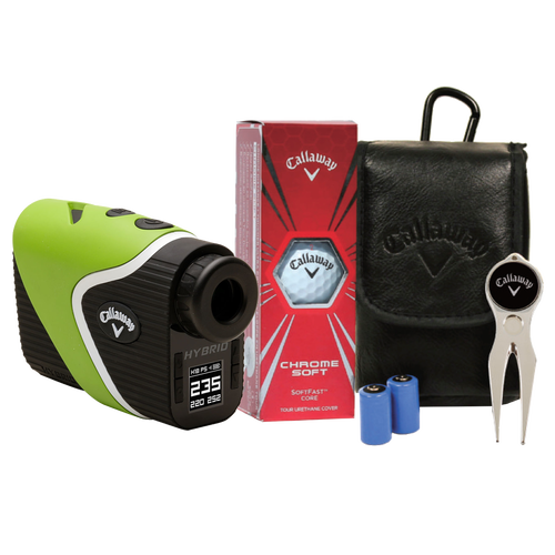 Hybrid Laser-GPS Rangefinder with Power Pack