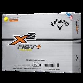 X2 Hot+ Yellow Golf Balls