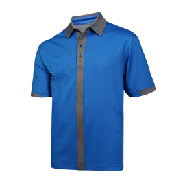 Pinstripe Golf Polo