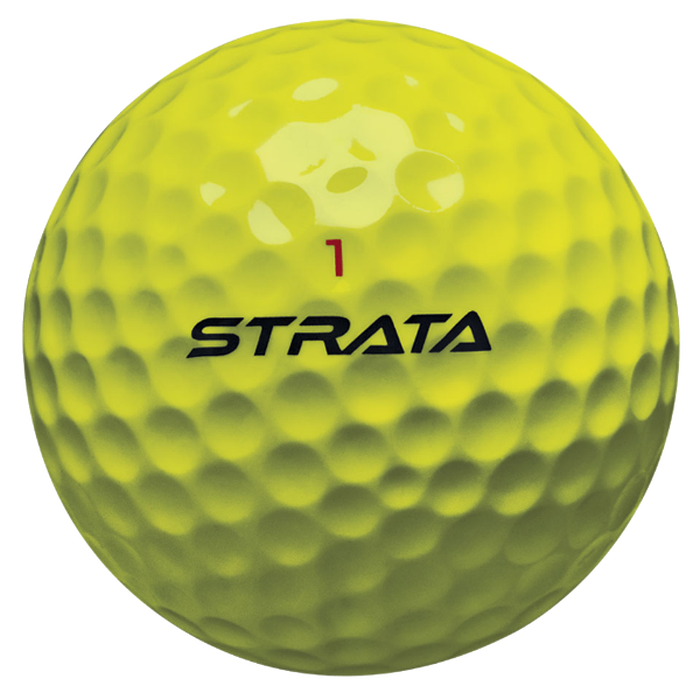 Strata Jet Yellow Golf Balls