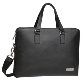 Gran Premio Leather Briefcase