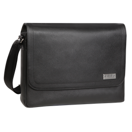 Gran Premio Leather Messenger Bag